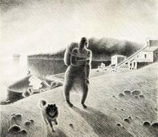 Разделка кита (В. Истомин)