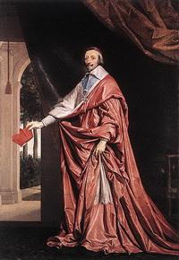 Французский кардинал Ришельё