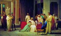 Чтение смертного приговора Тразею Пету (А.Ф. Бронников)