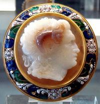 Камея с изображением Александра Македонского
