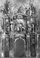Эскиз Арки Фердинанда (1635 г.)
