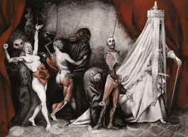 Театральность в живописи Сантьяго Карузо