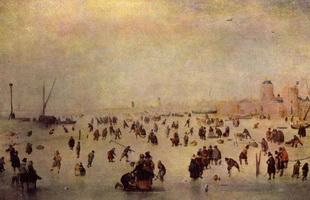 Катание на коньках (Х. Аверкамп)