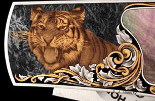 Тигр (Стив Дж. Линдсей, Ручная гравировка)