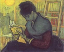 Читательница романа (В. ван Гог, 1888 г.)