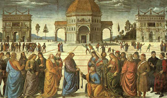Передача ключей св. Петру (Перуджино)