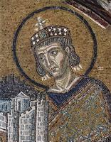 Константин Великий приносит Город в дар Христу