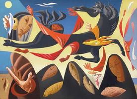Сюрреалистическая композиция (Л.Л. Сюрваж, 1936 г.)