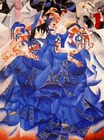 Танцовщица в голубом (1912 г.)