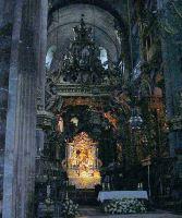 Сантьяго де Компостела. Собор Св. Иакова. Интерьер