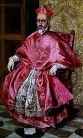 Портрет кардинала (Эль Греко, 1600 г.)
